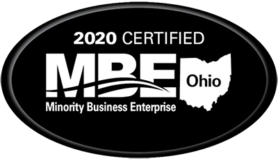 Minority Business Enterprise (MBE) Ohio Badge 2020