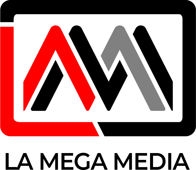 La Mega Media Corporate Logo